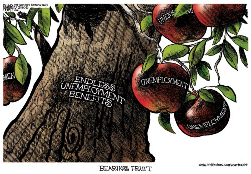 Ramirez-cartoon unemployment Benefits