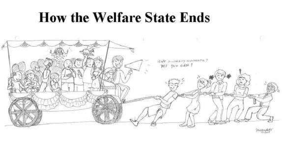 Image result for welfare cart in the beginning and after