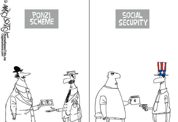 is social security a ponzi scheme