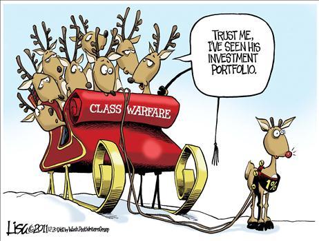 Rudolph The Class War Reindeer Was Part Of The 1 Percent