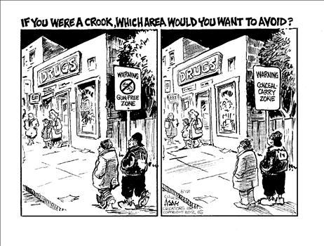 Excellent Gun Control Cartoon International Liberty