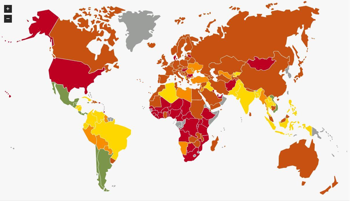 The \'Happy Planet Index\' Ranks Venezuela, Albania, and Cuba Far ...