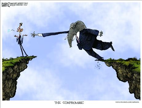 Cartoon Fiscal Cliff 5