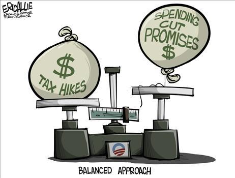 Cartoon Fiscal Cliff 7
