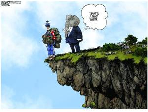 Fiscal Cliff Cartoon Ramirez
