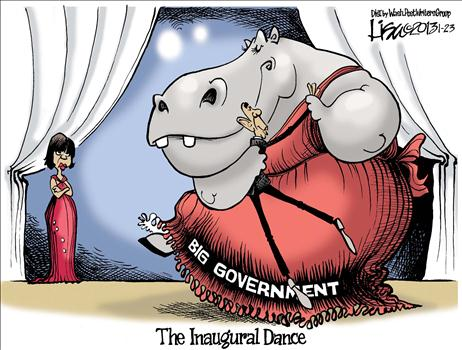 Big Government Dance Cartoon