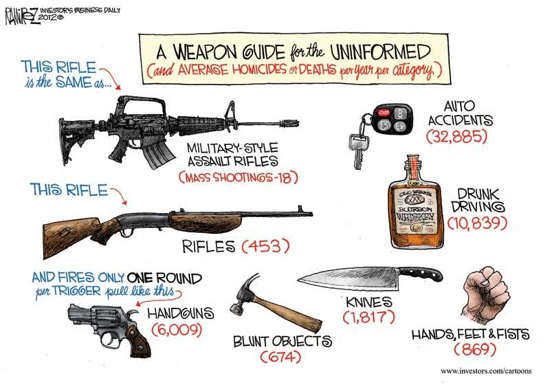 Gun Control Political Cartoons 2013
