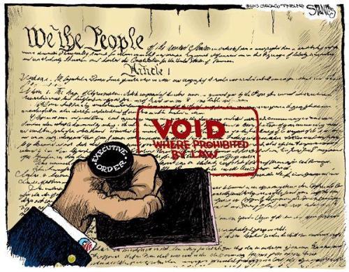 Executive Order Cartoon