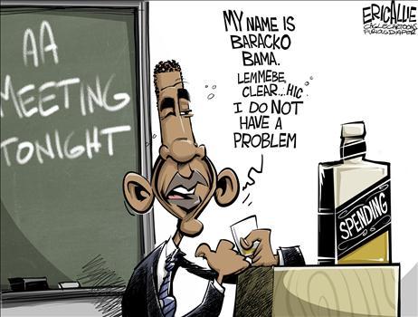 Spending Problem Cartoon 1