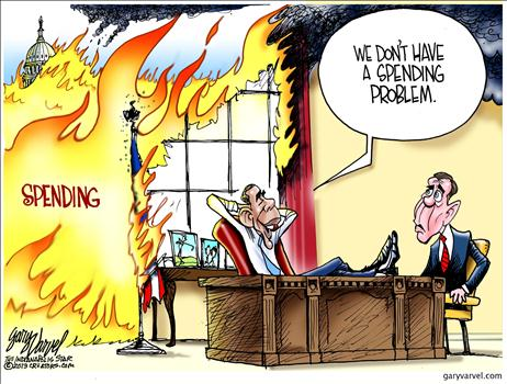 Spending Problem Cartoon 4