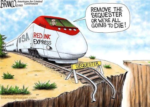 Sequester Cartoon Branco 3