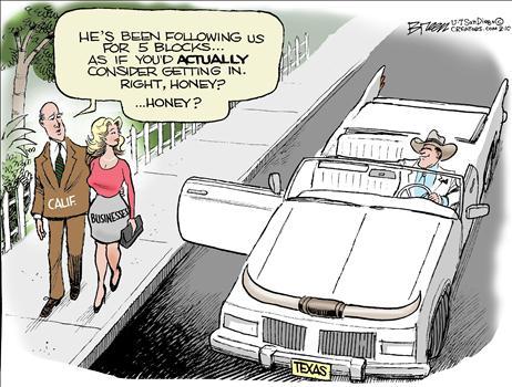 Texas Seduction Cartoon