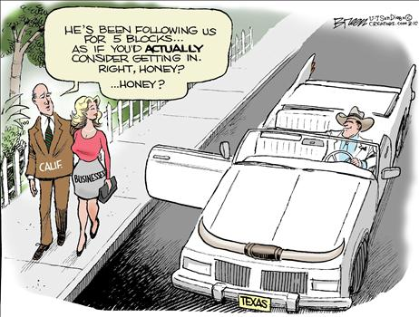 Texas Seduction Cartoon
