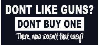 Gun Control Poster Buy One