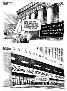 MacNelly Shutdown Cartoons
