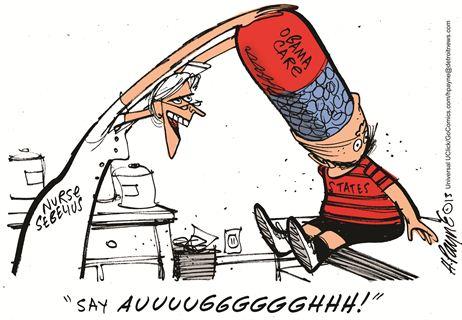 Obamacare Cartoon 1