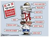 obamacare-cartoon-2 The Continuing…and Continuing…Obamacare Disaster