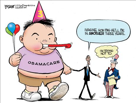 Obamacare Cartoon 3