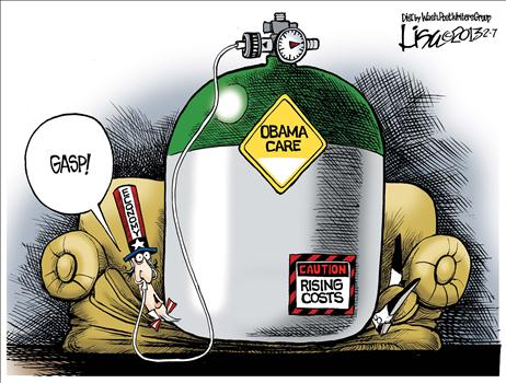 Obamacare Cartoon 4