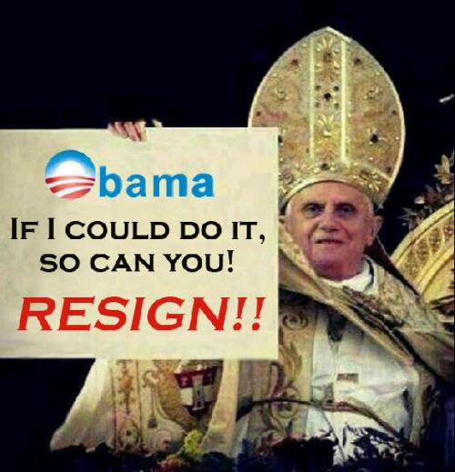 Pope Message to Obama