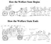 Welfare State Wagon Cartoons