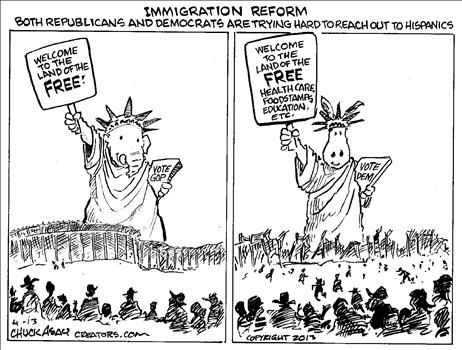 Immigration Cartoon