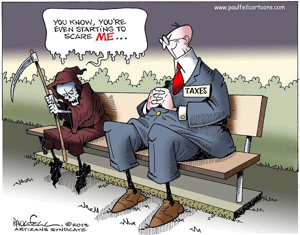Image result for good taxation cartoon