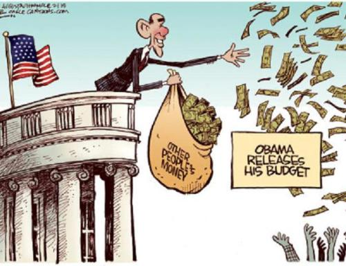 Leaked Obama Budget Cartoon