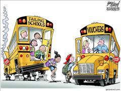 School Choice Cartoon