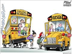 School Choice Cartoon