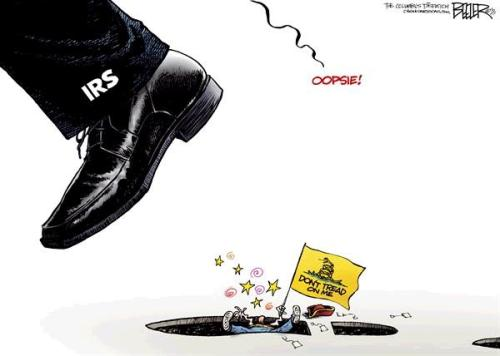 IRS Tea Party Cartoon 2