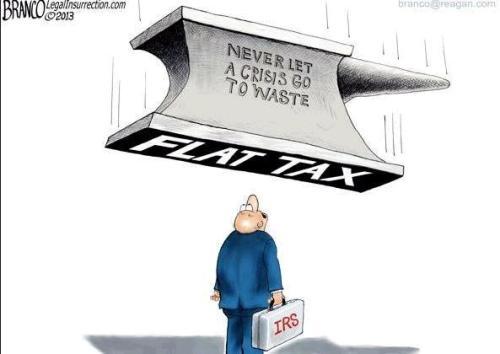 Flat Tax Crisis