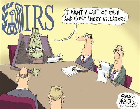 IRS Frankenstein Cartoon