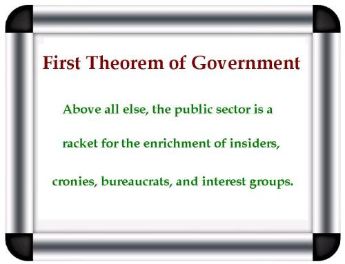 Mitchell's First Theorem of Government
