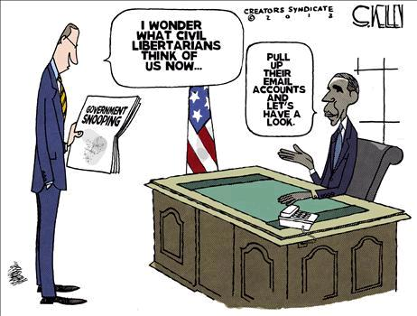 NSA Spy Cartoon 3