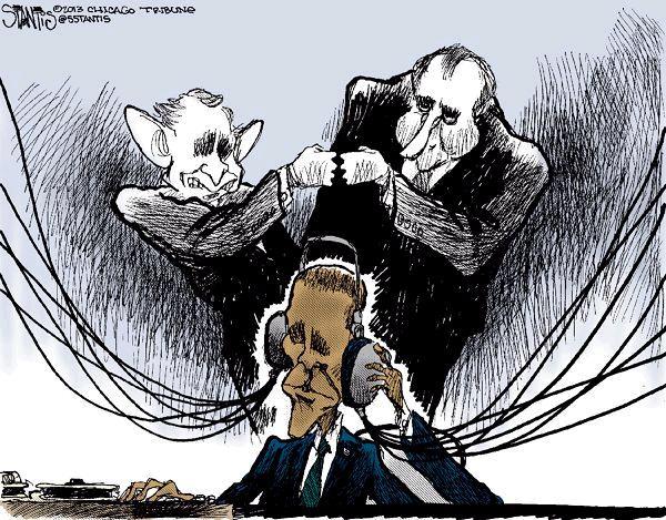 NSA Spy Cartoon 4
