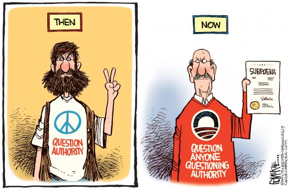 Obama NSA Spy Cartoon 1