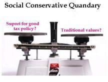 Social Conservative Quandary