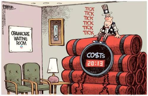 Obamacare Cartoon July 15 4