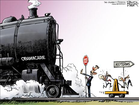 Obamacare Cartoon July 2013 3