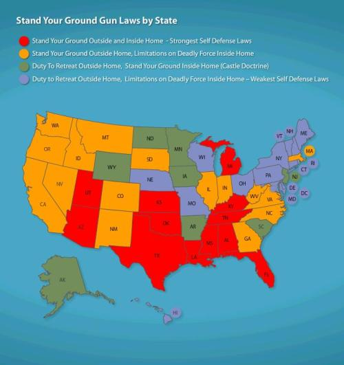 Stand your ground laws US