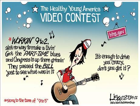 Cartoon Obamacare Video Contest