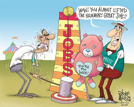 Obamanomics Cartoon 2013 1