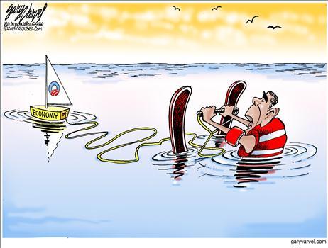 Obamanomics Cartoon 2013 2
