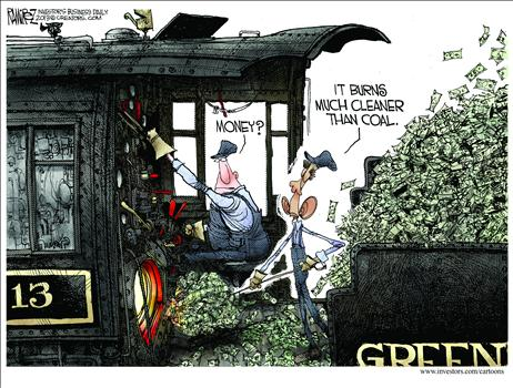 Ramirez Green Energy Cartoon