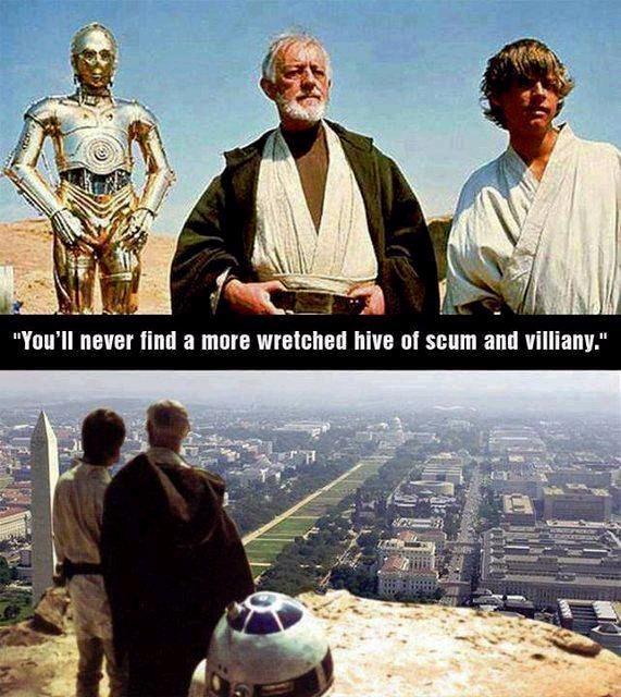 Star Wars Politicians