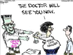 Bok Obamacare Cartoon