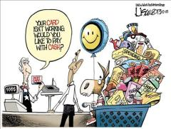 Debt Limit Obama Cartoon