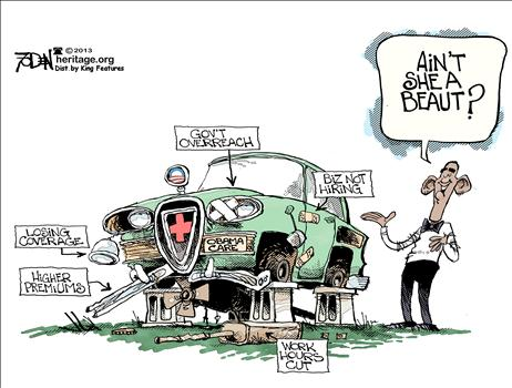 Foden Obamacare Cartoon