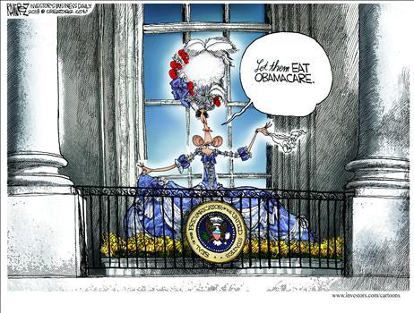 Obamacare Cartoon Oct 2013 2